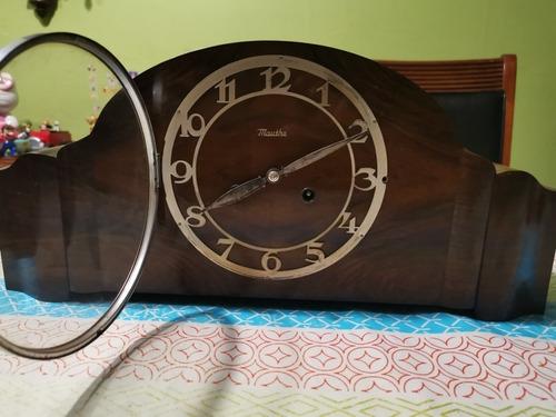 antiguo reloj de mesa mauthe