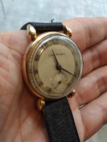 antiguo reloj de oro girard perregaux original