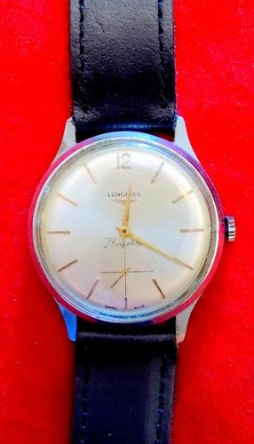 antiguo reloj de pulsera longines modelo flagship. excelente