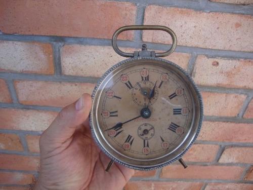antiguo reloj despertador repeticion a cuerda