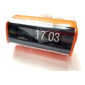 Antiguo Reloj Eléctrico Electrónico Pestaña Nuevo Naranjo