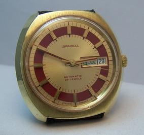Antiguo Reloj Henri Sandoz & Fils Ref.761z 45 2 Autm.unico!!