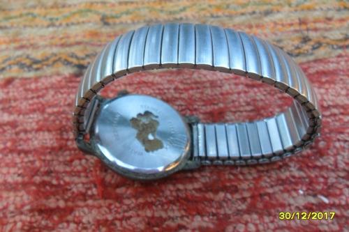 antiguo reloj jean cartier quartz malla elástica sana no mar