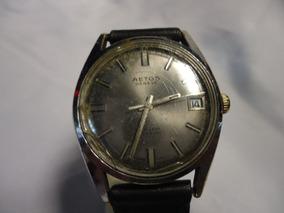 fcced185c110 Reloj Roamer Rotodate 44 Rubis - Joyas y Relojes Antiguos en Mercado ...