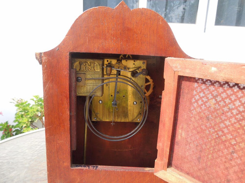 antiguo reloj mesa aleman philippe hass