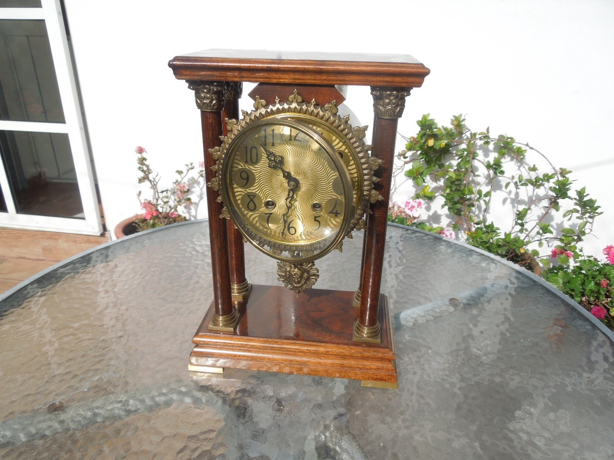 Antiguo Reloj Warmink 00 Bracket Wuba 900 Portico6 Mesa Holandés vw08Nmn