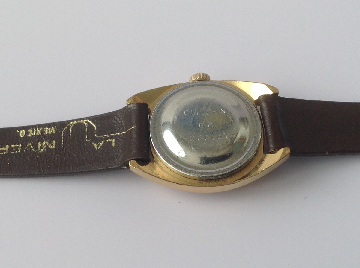 Reloj citizen de oro para mujer