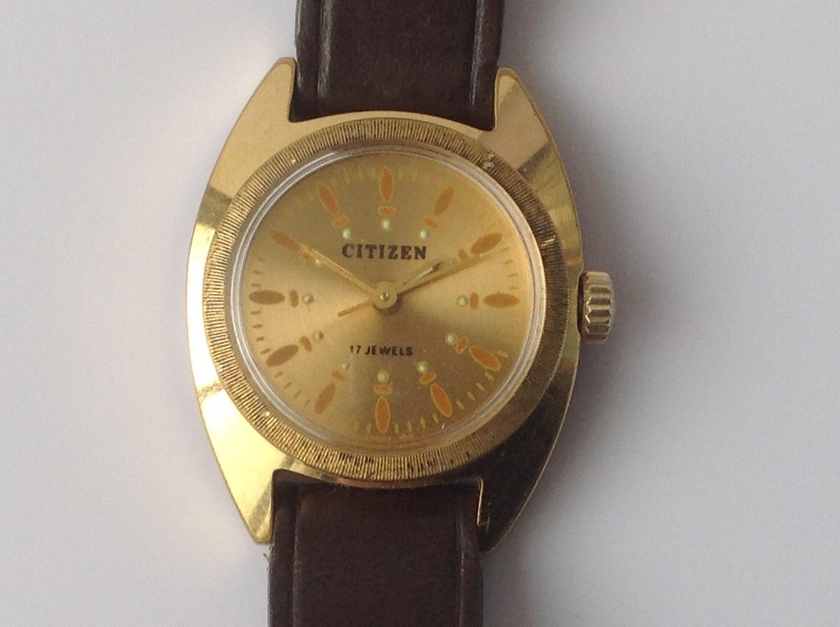 Reloj citizen chapa de oro for Relojes de pared antiguos precios