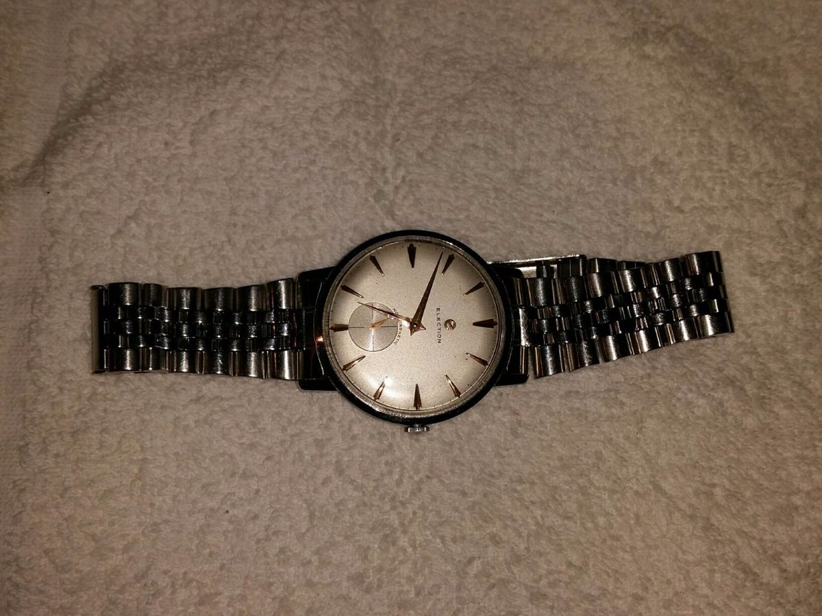a138ed6a7a0a antiguo reloj pulsera caballero election. Cargando zoom.