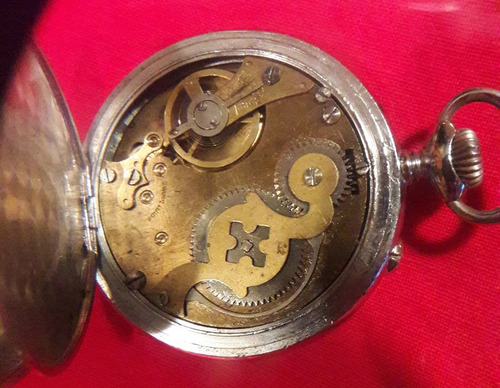 antiguo reloj roskopf ferrocarril