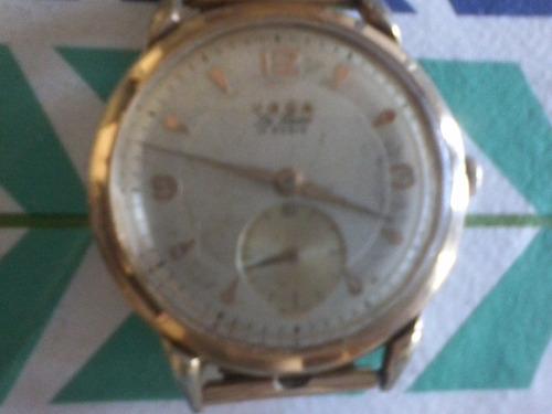 antiguo reloj voga de luxe 17 jewels