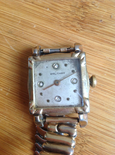 antiguo reloj waltham