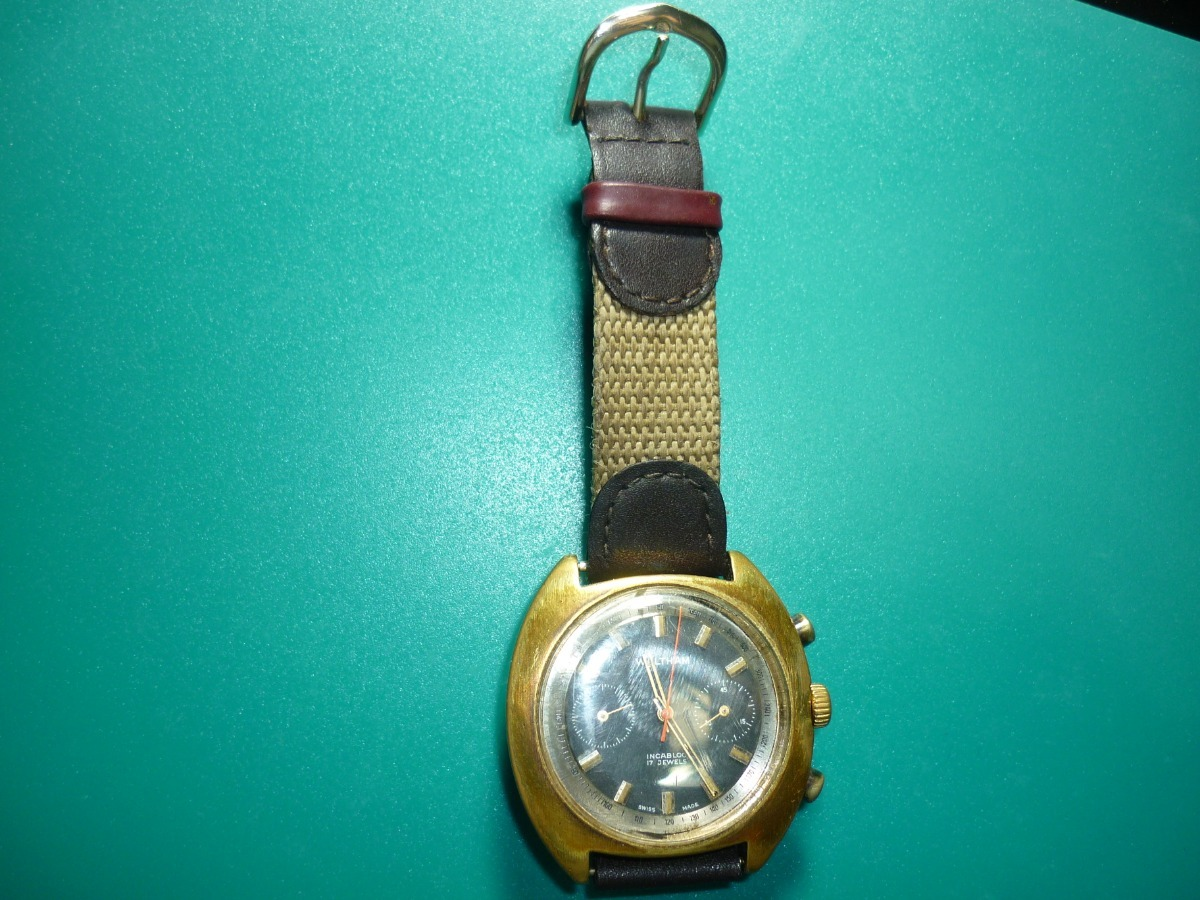 c4472385d663 antiguo reloj waltham de cuerda y pulso caballero original. Cargando zoom.
