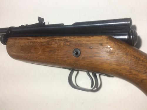 antiguo rifle de postas colección marca crosman cal. 22  co2