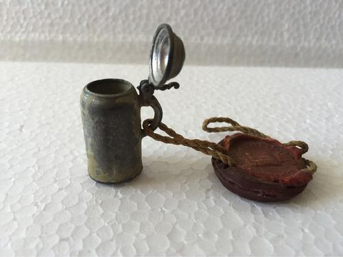 antiguo schoperito marca sellada con lacre