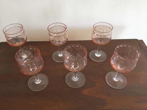 antiguo set de copas yungay