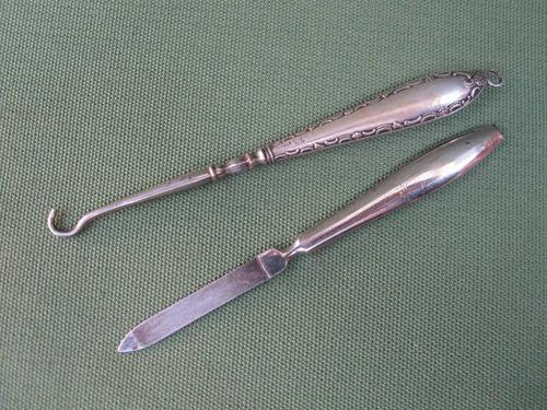 antiguo set lima y desata cordones femenino