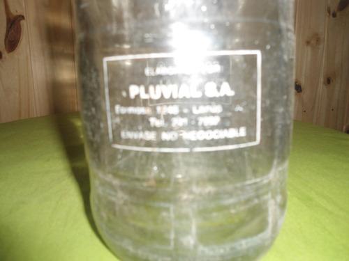 antiguo sifon de coleccion , de litro