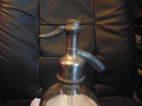 antiguo sifon de soda