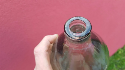 antiguo sifon soda castelli de 1 litro sin pico