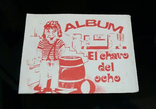 antiguo sobre del álbum el chavo del ocho - nuevo!