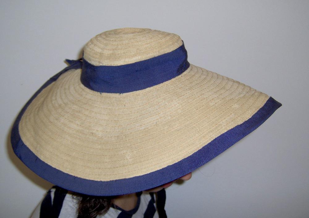 antiguo sombrero capelina a mano años 40 excelente ! Cargando zoom. a0374fd3b1f