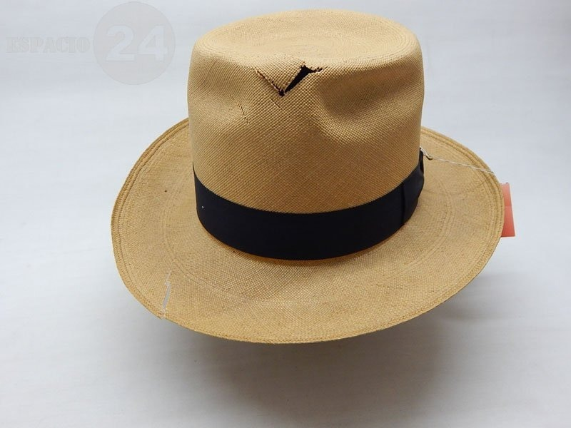 antiguo sombrero panamá legítimo hecho ecuador color natural. Cargando zoom. 3bfbf3d415f
