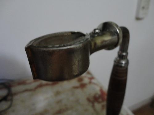 antiguo soporte de cafetera bola industria argentina