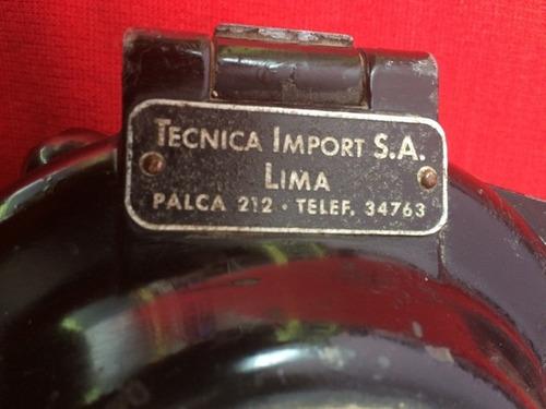 antiguo tacometro taximetro kienzle alemania 194? antigua
