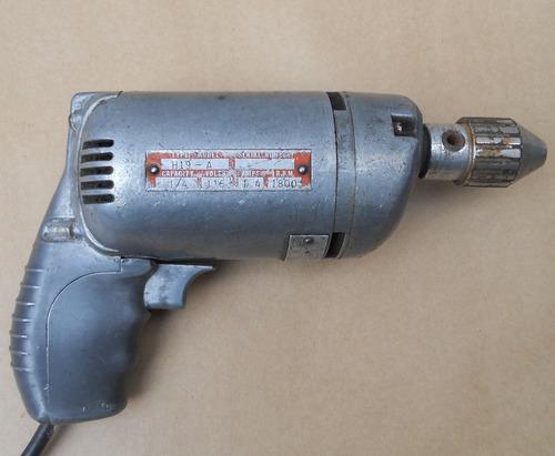 antiguo taladro eléctrico stanley handyman