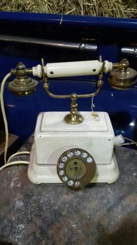antiguo telefono ericsson funcionando