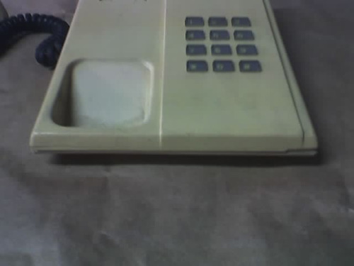 antiguo telefono hecho en peru por indumil funcionando