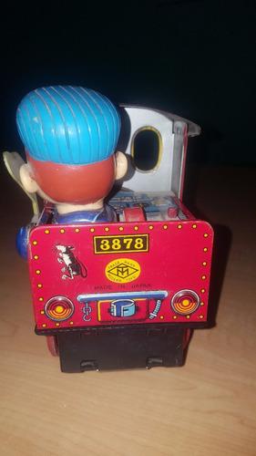 antiguo tren de lamina