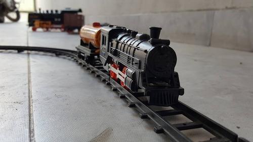 antiguo tren de lata made in japan shell