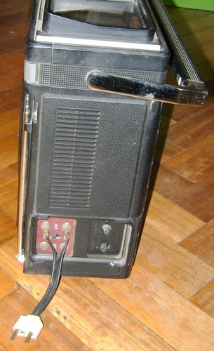 antiguo tv radio cassette sharp tri-mate 3t-59 boombox
