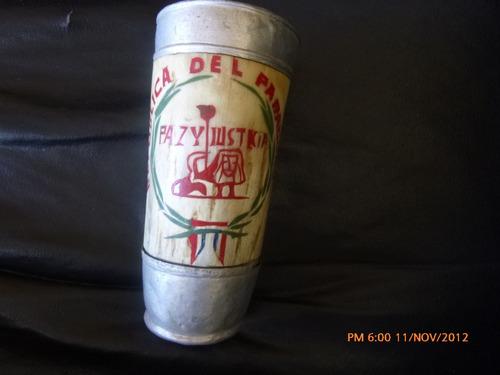 antiguo vaso de chicha aplicaciones de al artesania paraguay