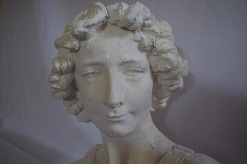 antiguo vintage busto y cabeza de david de miguel angel
