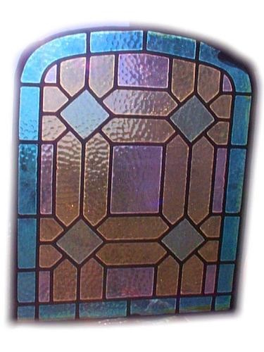 antiguo vitral en perfectas condiciones vitreaux