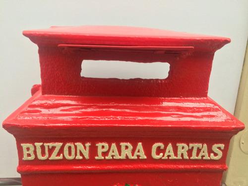 antiguo y raro  buzon de cartas - peru - 192?