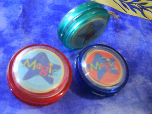 antiguo yoyo magic kids mod.profesional c/hilo 3 colores
