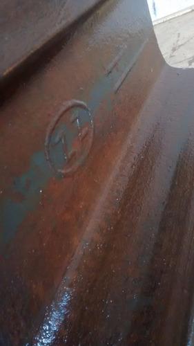 antiguo yunque riel de ferrocarril 30cm de largo!!!!