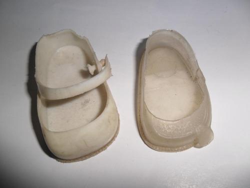 antiguo zapatito muñeco muñeca pielangeli zapato miniatura