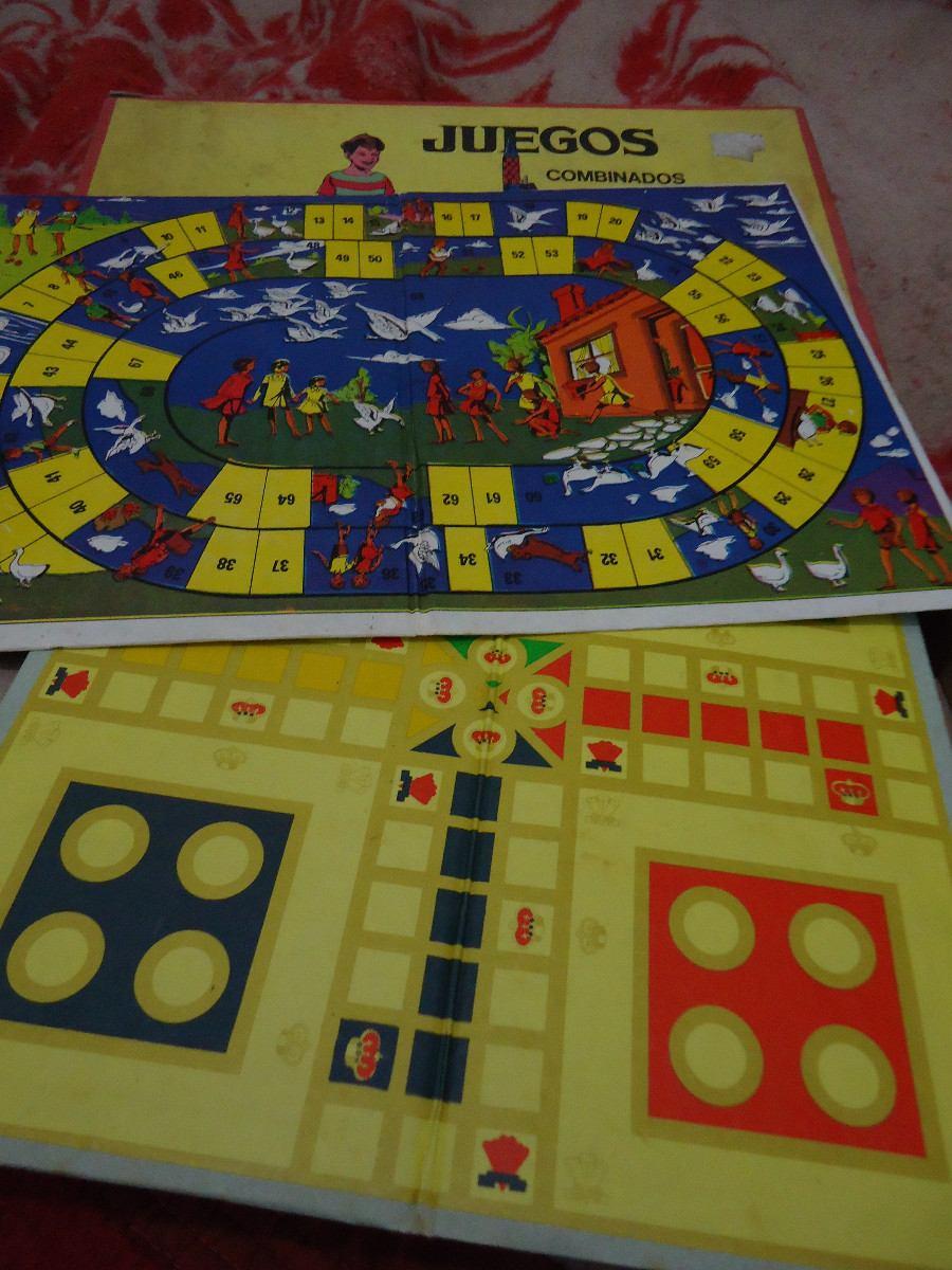 Antiguos 4 Juegos De Mesa Retro Nuevo De Los Anos 50 850 00 En