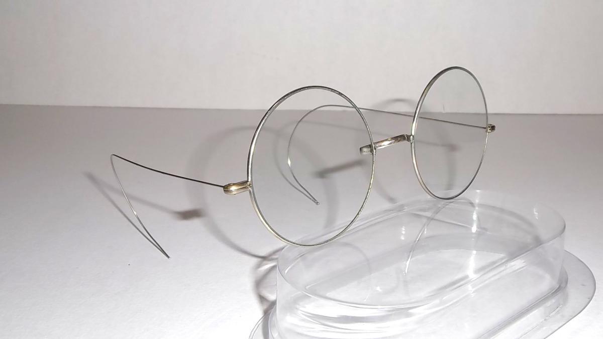 a3c2d38b31 antiguos anteojos redondos ideal uso o colección usa 40s. Cargando zoom.