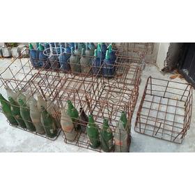 Antiguos Cajones Metal Soda, Vino, Cerveza, Etc.