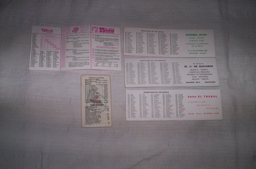 antiguos calendarios de bolsillo buen estado...