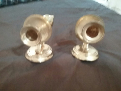 antiguos candelabros  $ 800.