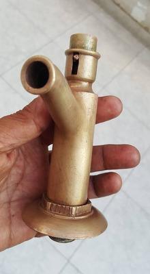 antiguos caños de de bronce gratis envio