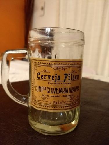 antiguos chops de cerveza brahma..