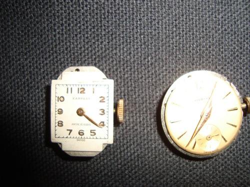 antiguos cuadrantes reloj earnest 15 rubies-aureole 17rubies